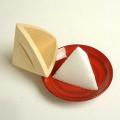 盛り塩固め器 三角錐