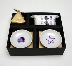 海女の祈り 紫色文字 三角錐