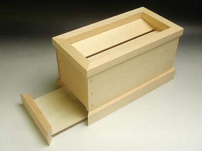 賽銭箱 小型 桧 木曽 木曽桧 木曽檜 国産 7寸